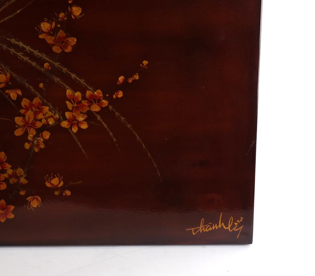 Japanese Lacquered Panel - 3