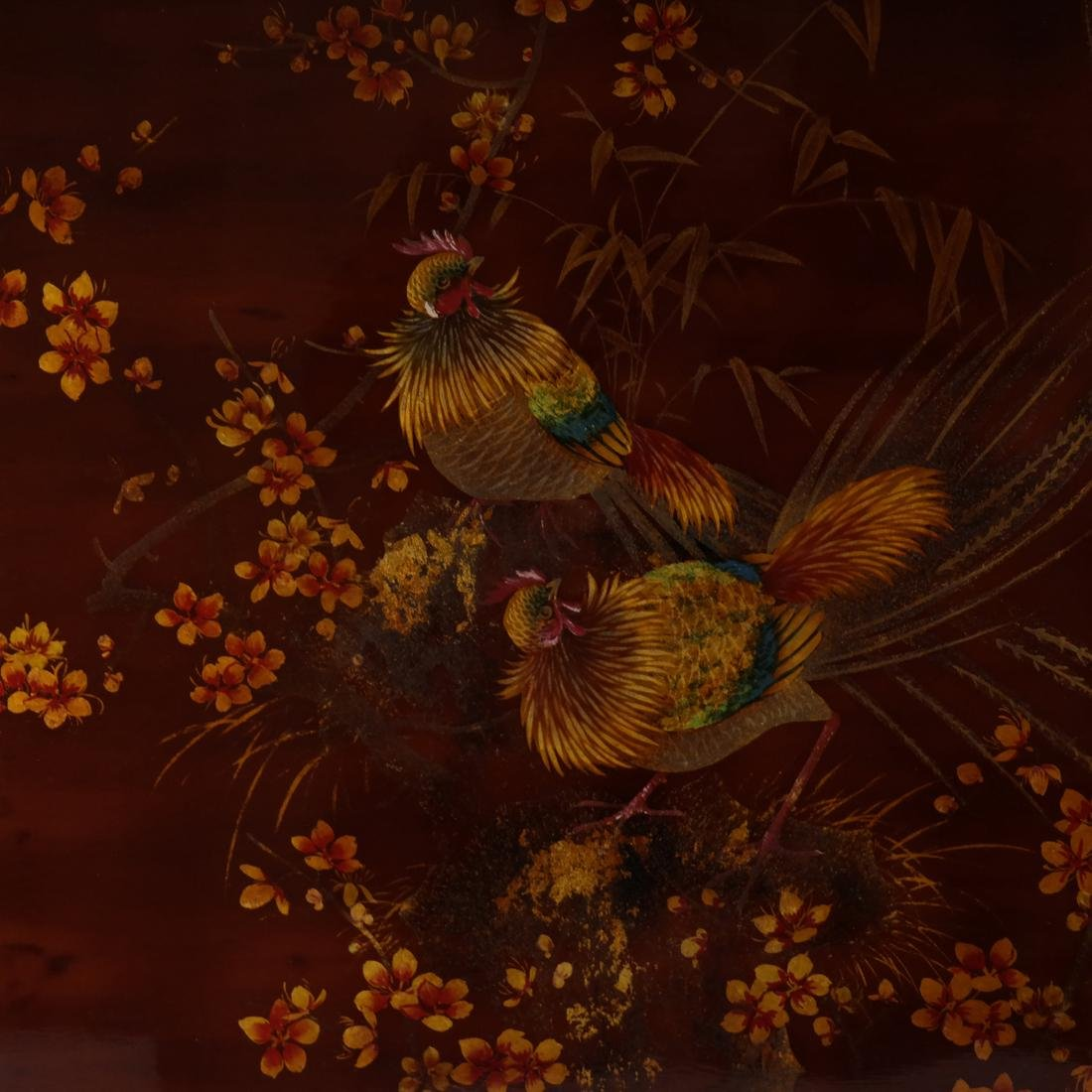Japanese Lacquered Panel - 4