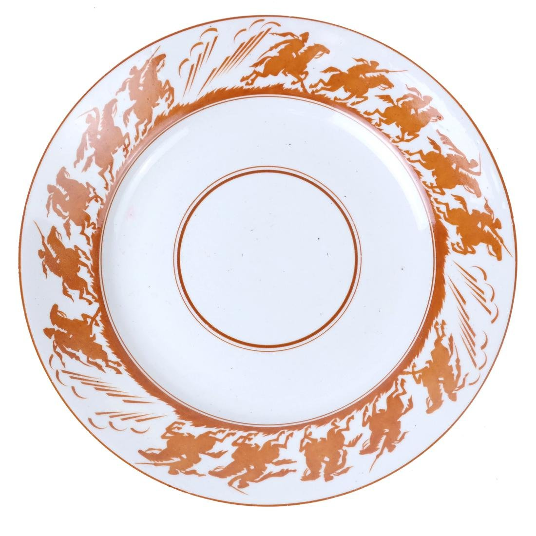 Three Russian Porcelain Plates - 9