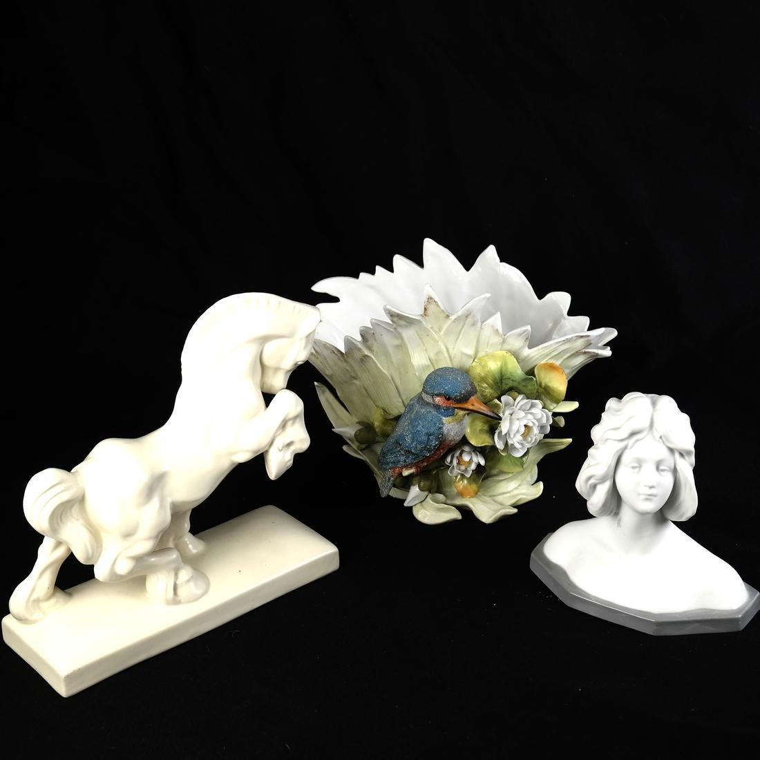 Three Ceramic Articles