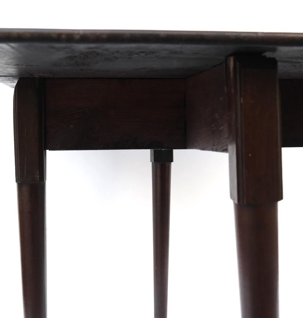 George II Mahogany Dropleaf Table - 7