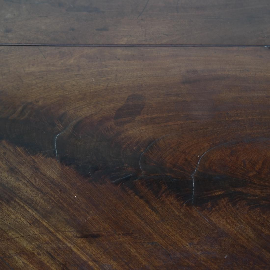 George II Mahogany Dropleaf Table - 8