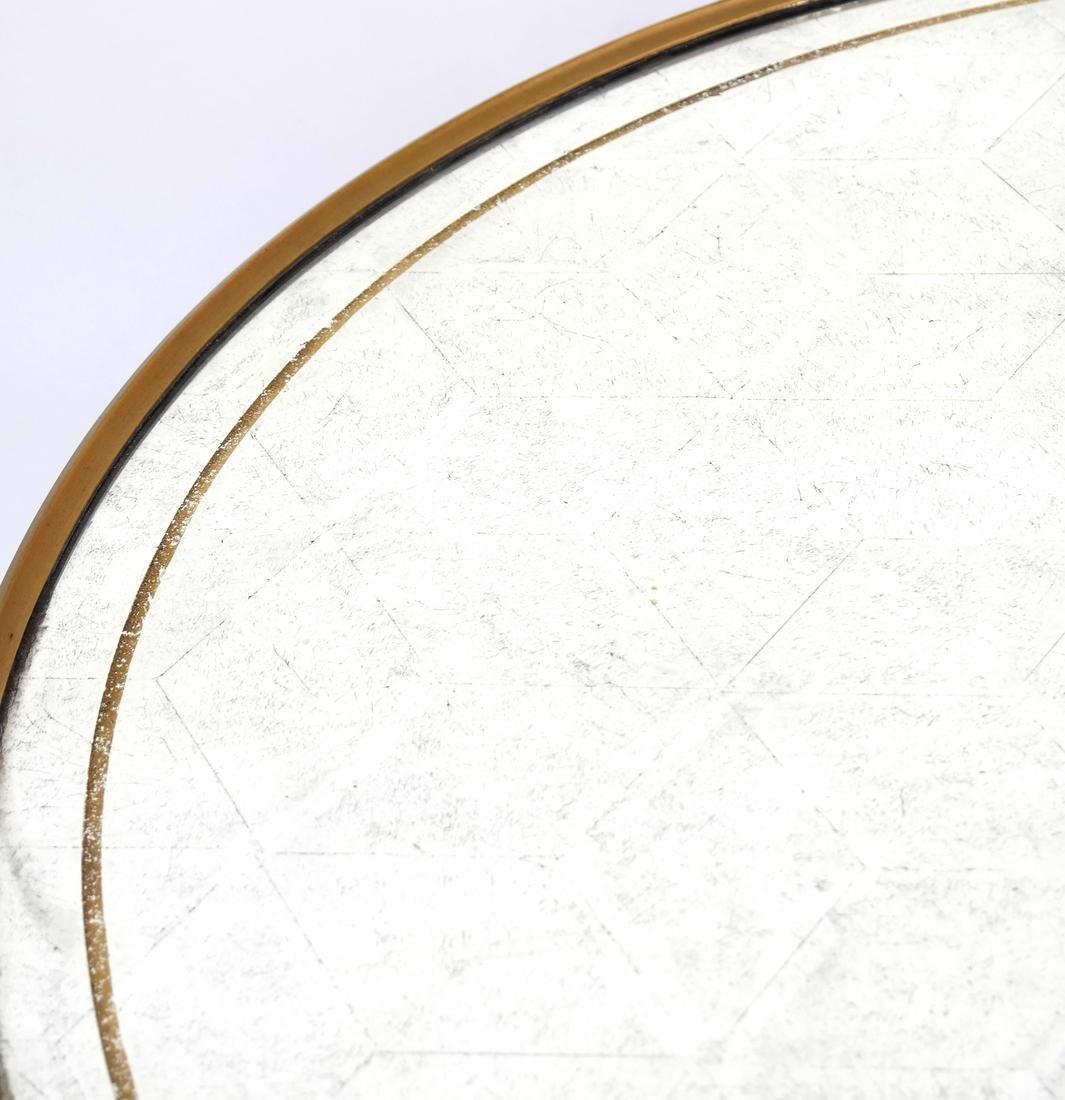 Louis XVI-Style Gilt Metal Gueridon - 8