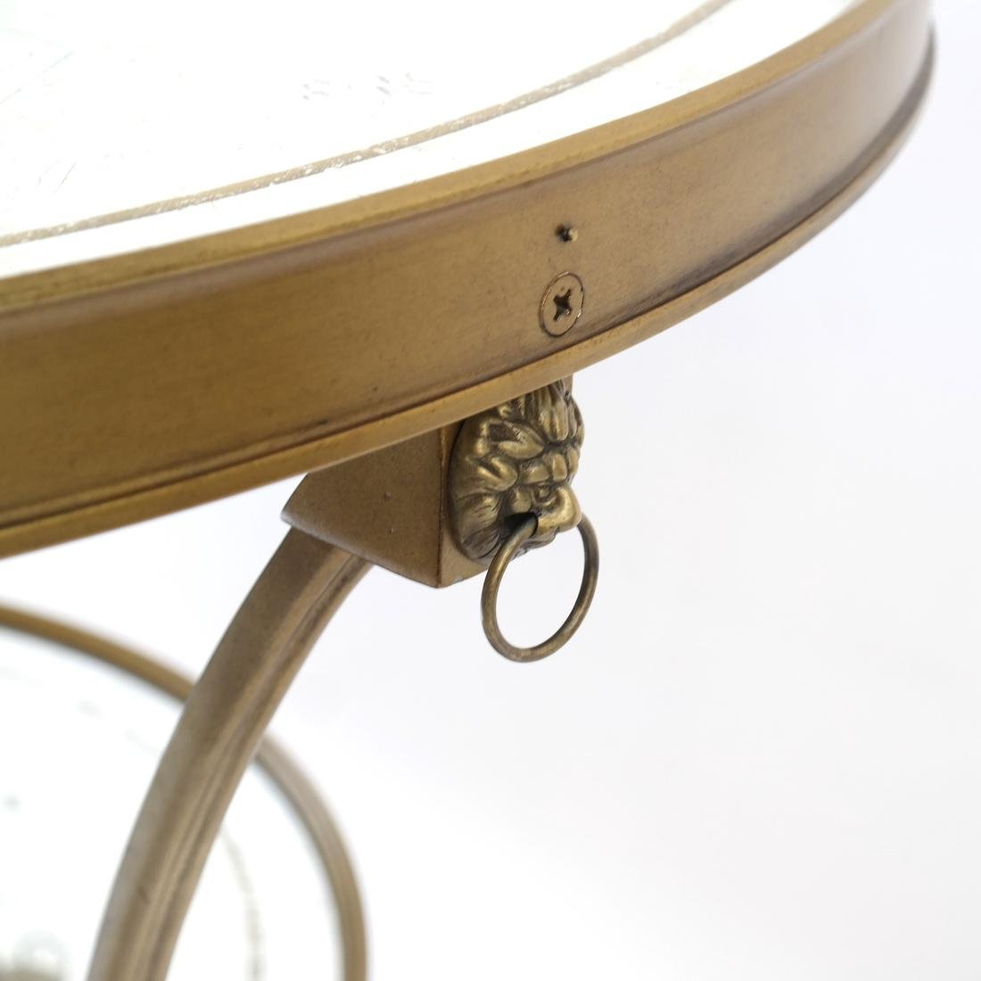 Louis XVI-Style Gilt Metal Gueridon - 9