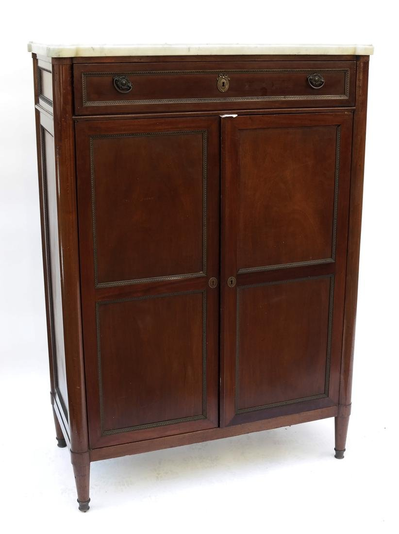 Louis Philippe-Style Wardrobe Cabinet