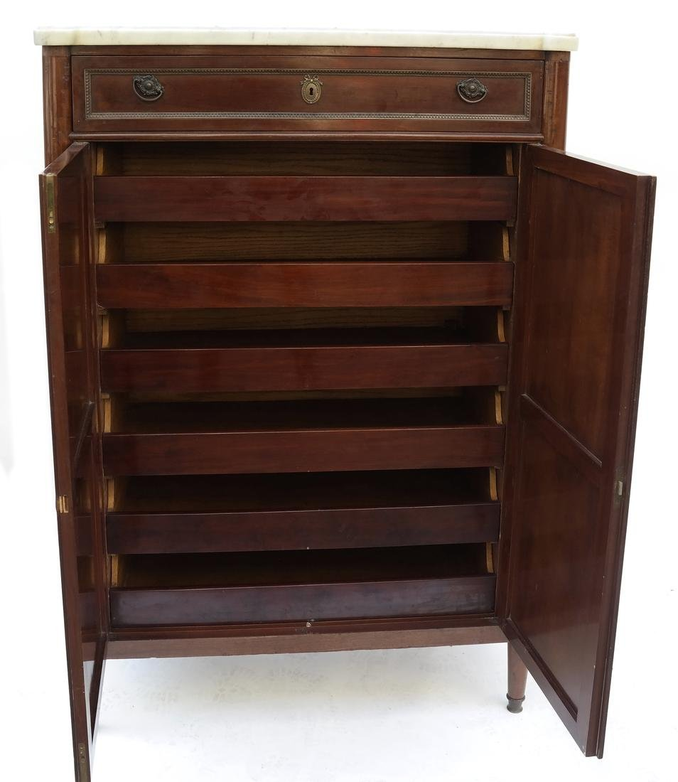 Louis Philippe-Style Wardrobe Cabinet - 6