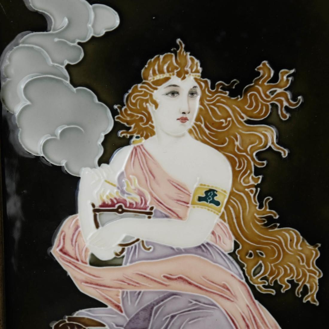 Art Nouveau Plaque - 3