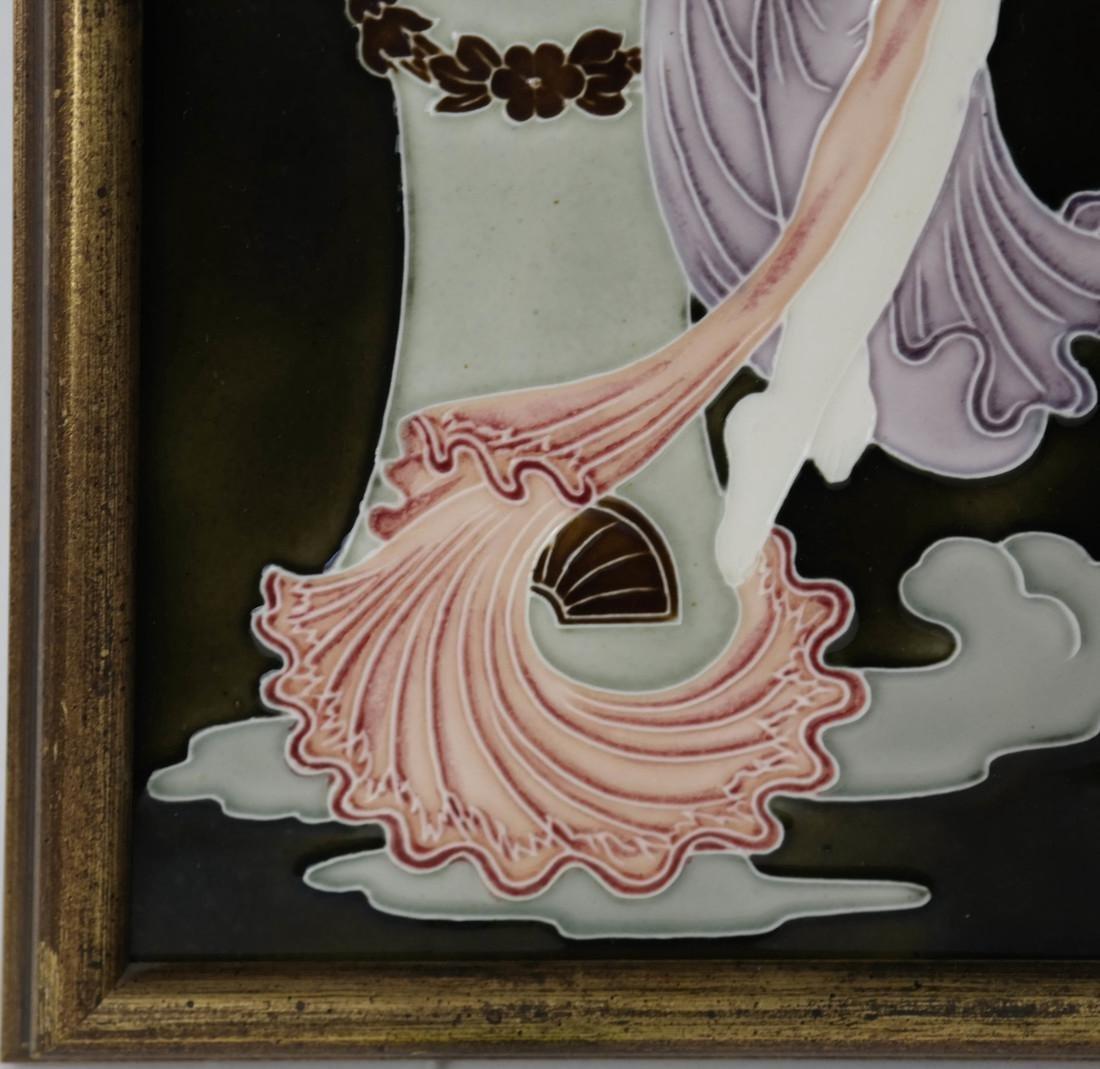 Art Nouveau Plaque - 5