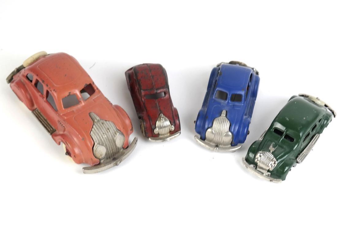 Hubley Model Car, 3 others