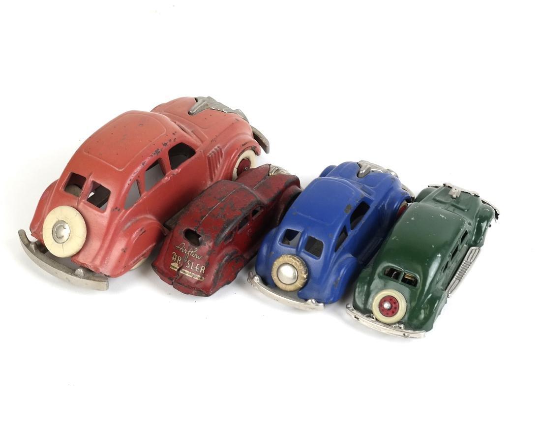 Hubley Model Car, 3 others - 3