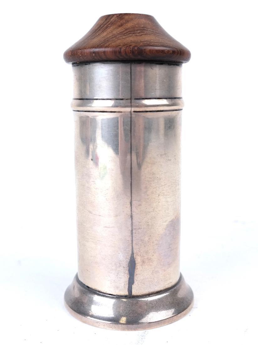 Cartier Silver Tankard Pen Holder - 2