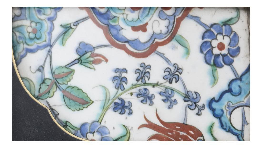 Early Chinese or Persian Tile