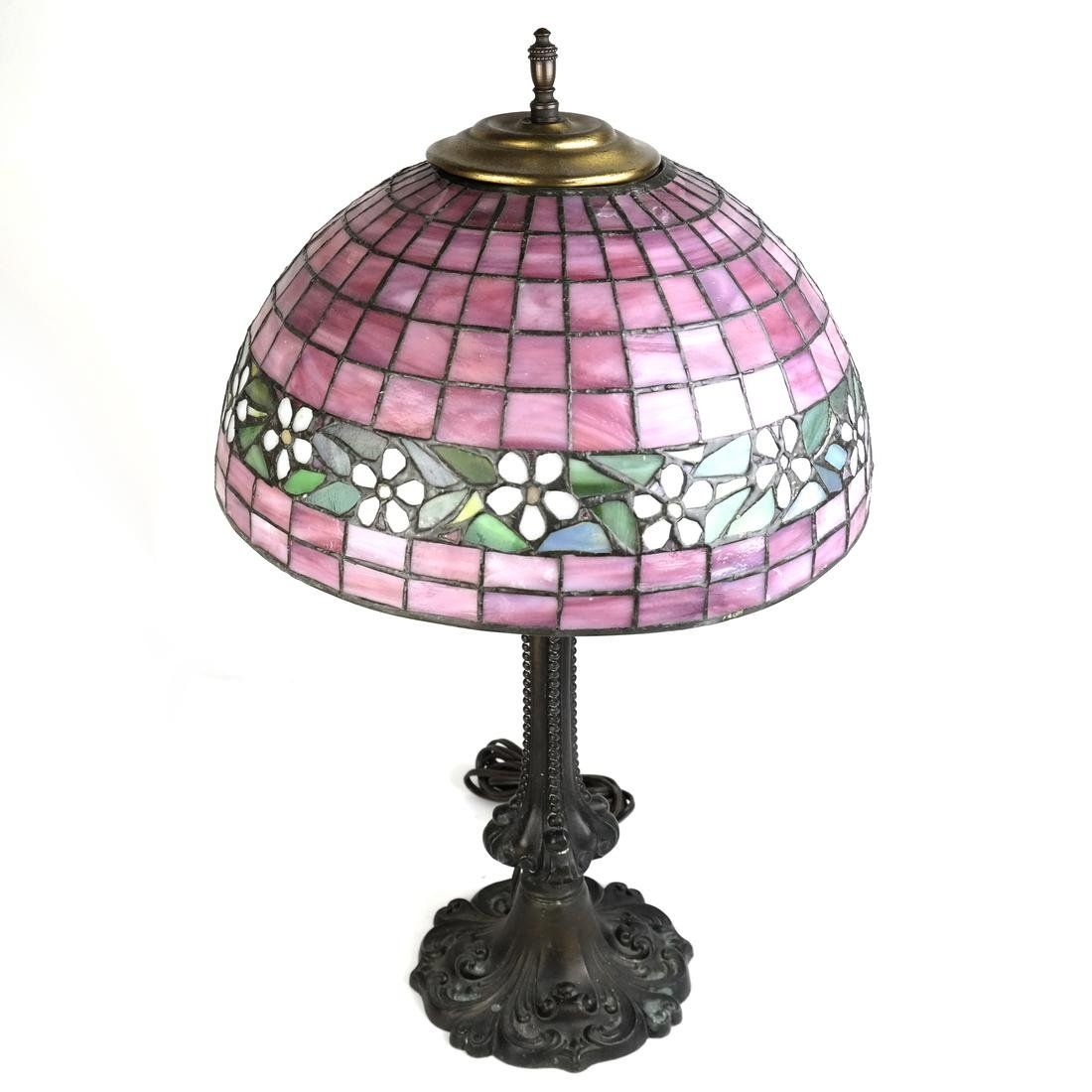 Leaded Glass Lamp