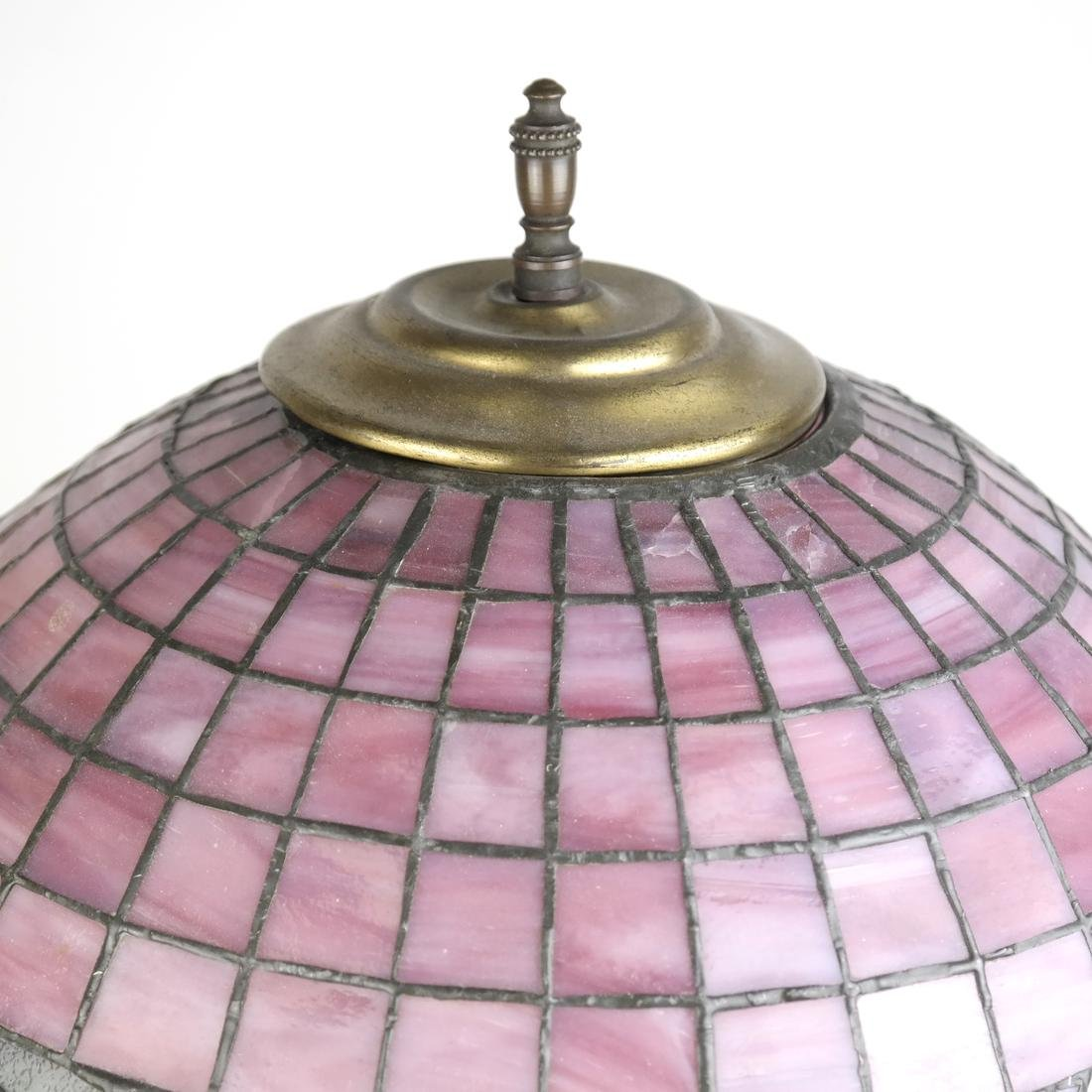 Leaded Glass Lamp - 3