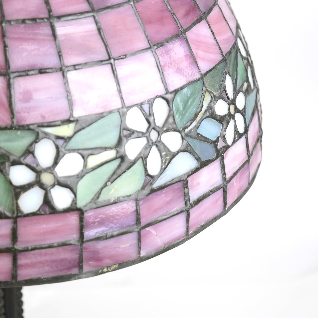 Leaded Glass Lamp - 4