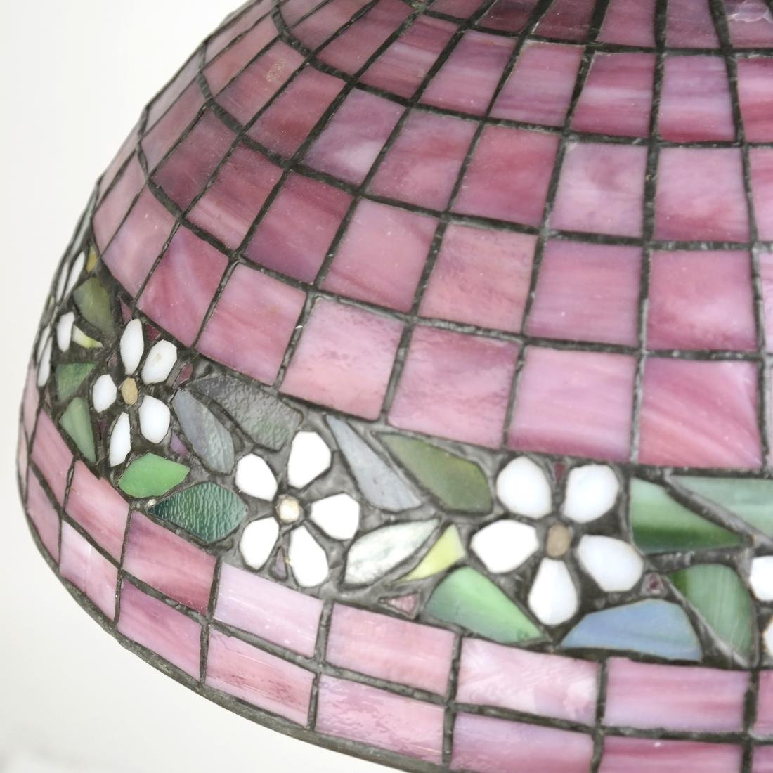 Leaded Glass Lamp - 5