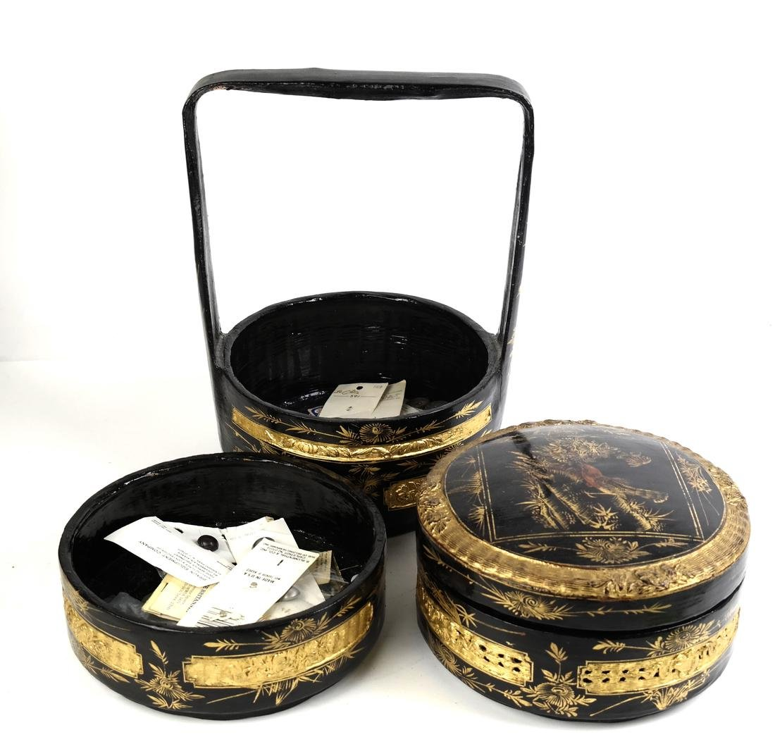 Chinoiserie Sewing Box - 4