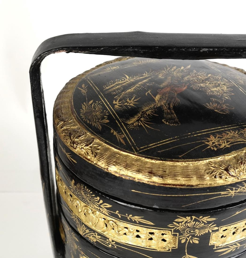 Chinoiserie Sewing Box - 5
