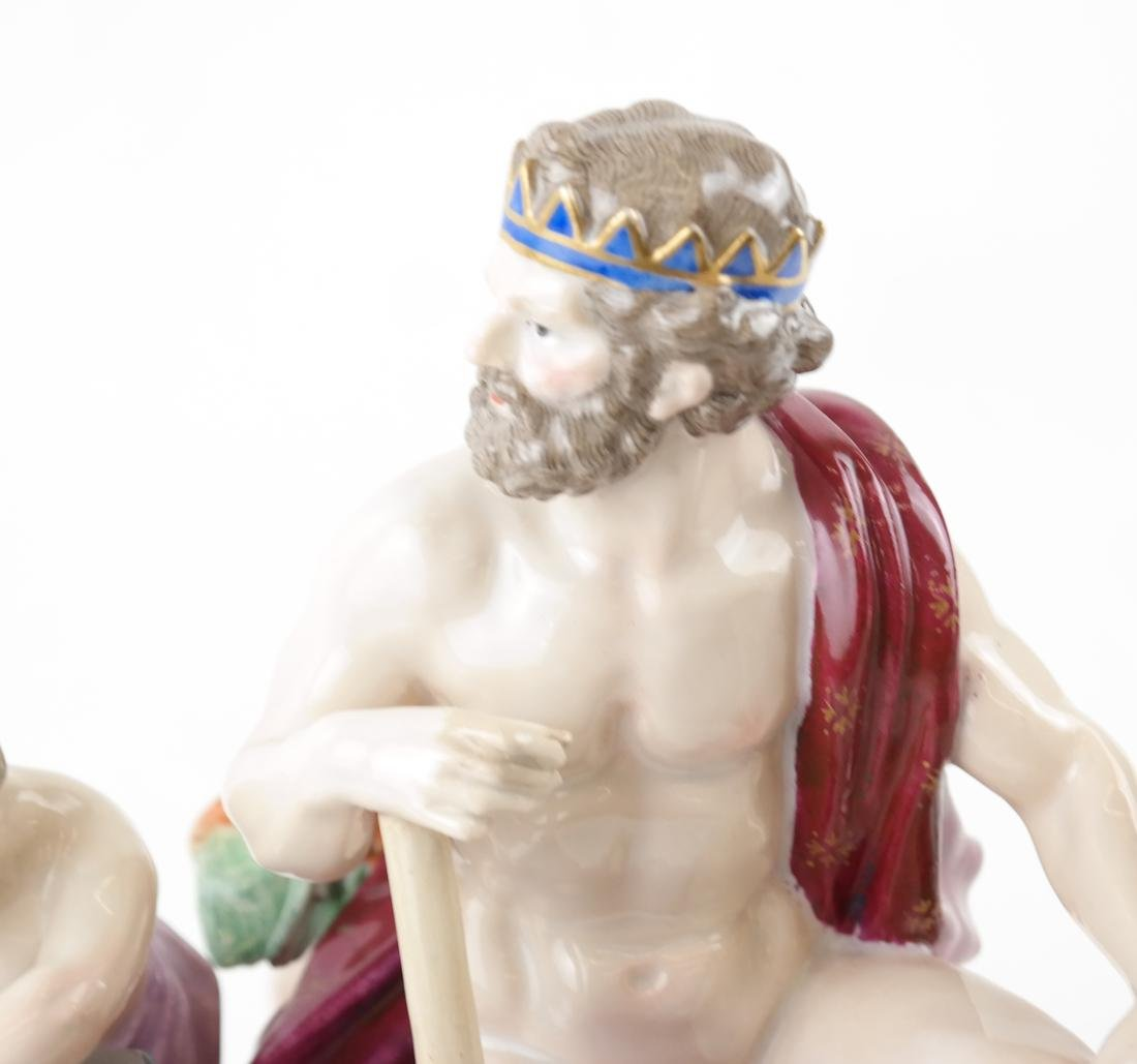 Meissen-Style Figural Allegorical Group - 2