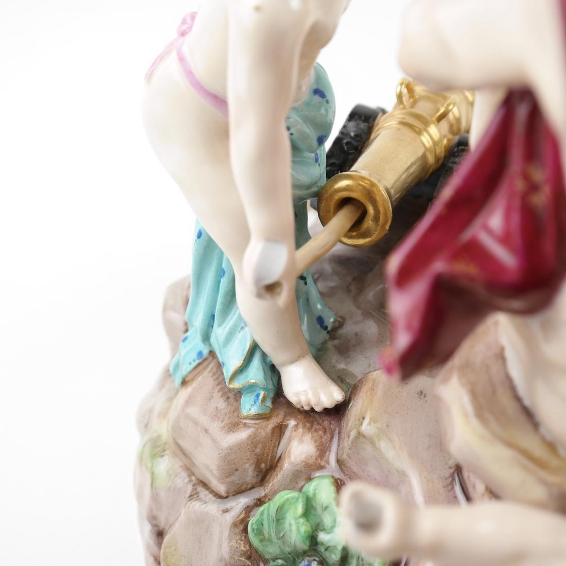 Meissen-Style Figural Allegorical Group - 8