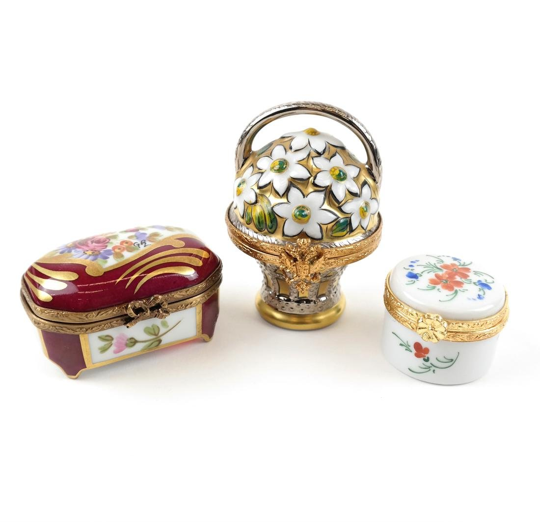 Nine Assorted Limoges Boxes - 3