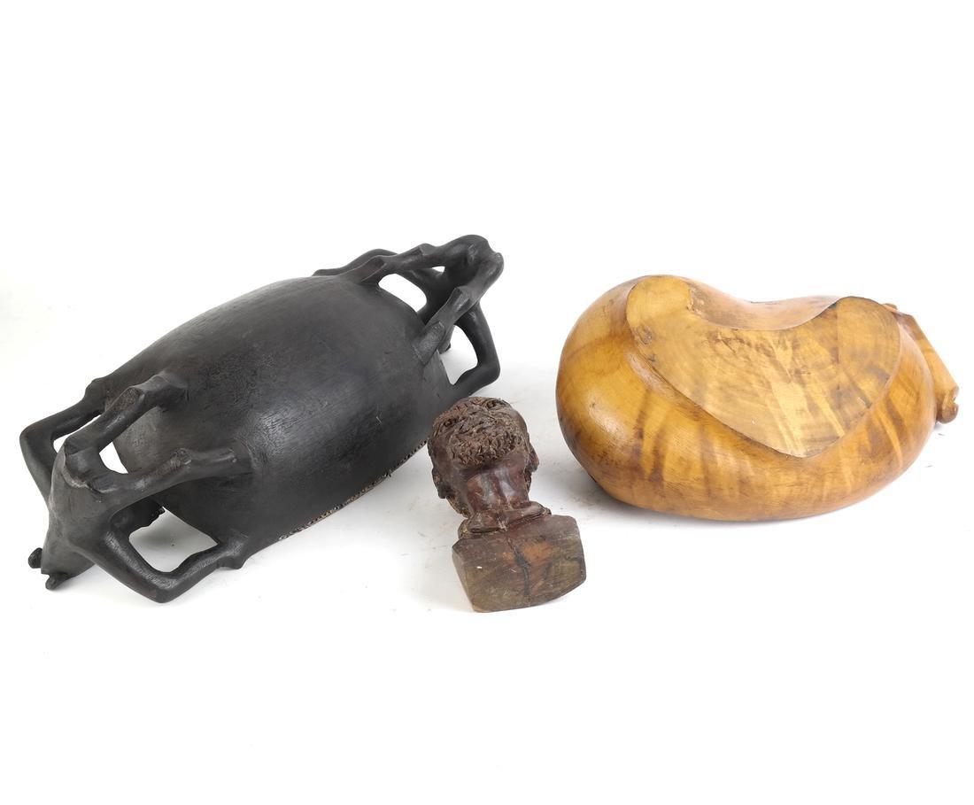 Three Wood Objects - 2