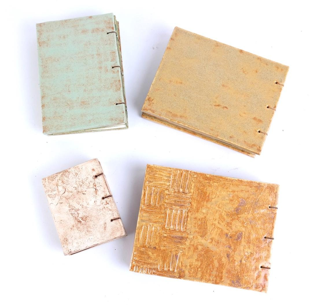 Four Decorated Tile Albums - 2