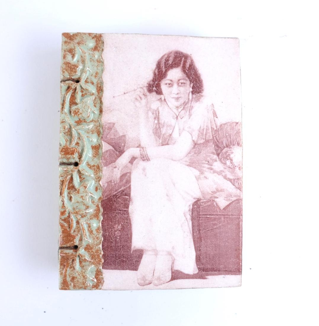 Four Decorated Tile Albums - 7