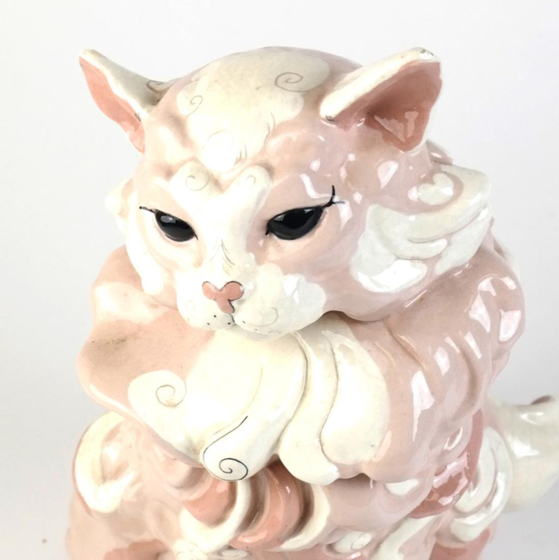 Two Ceramic Cats - 3