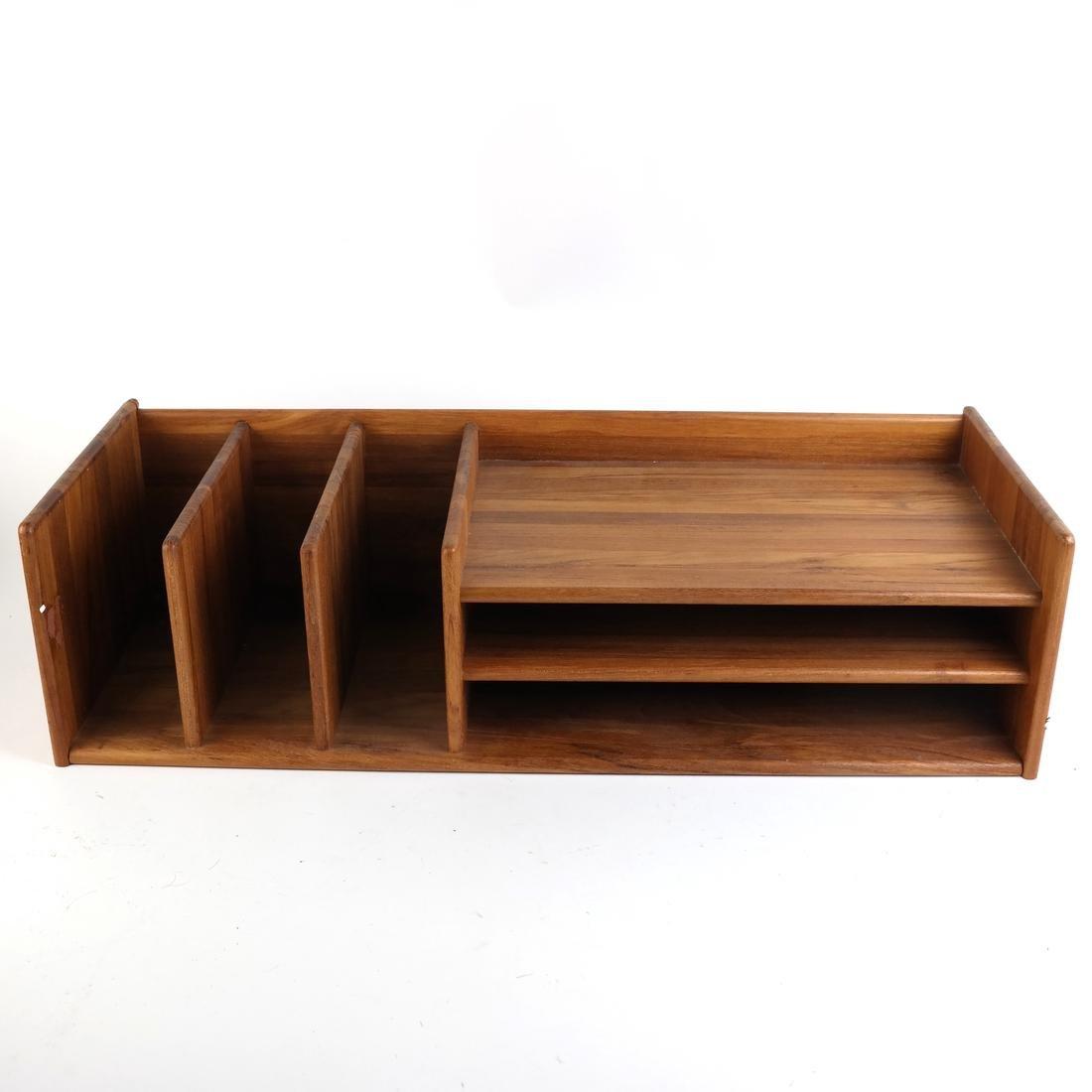 Wooden Desk Organizer - 2