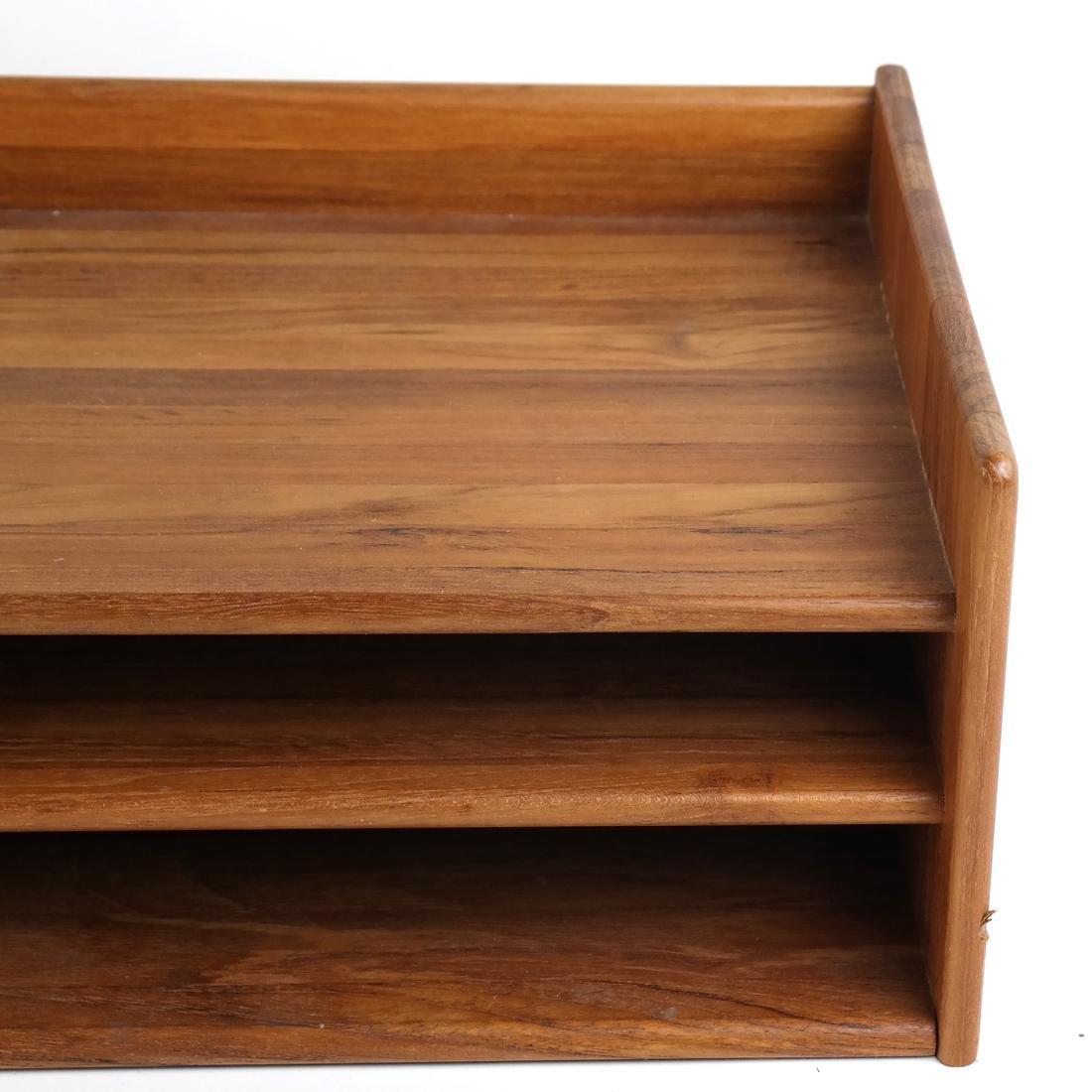 Wooden Desk Organizer - 3