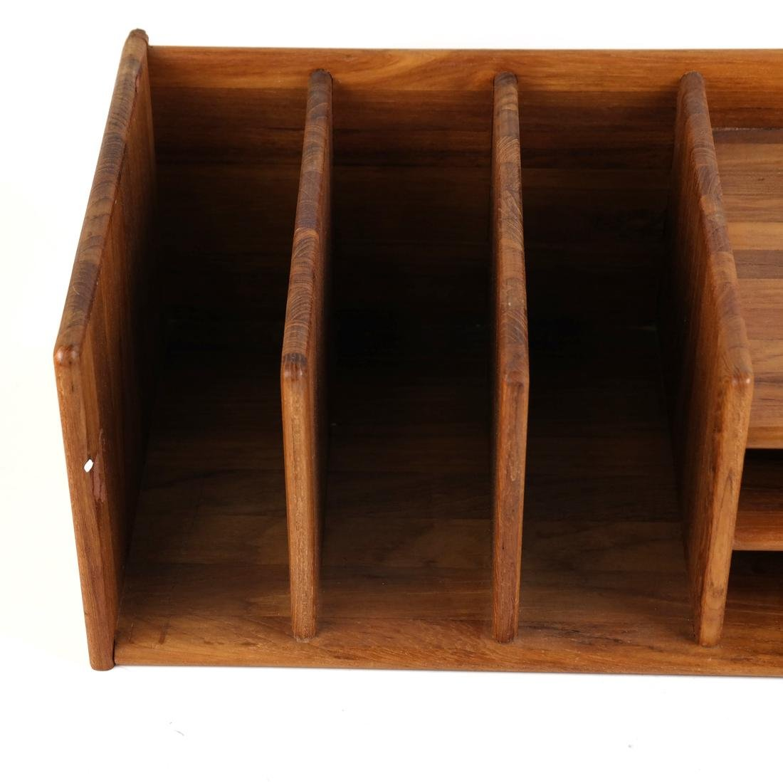 Wooden Desk Organizer - 4