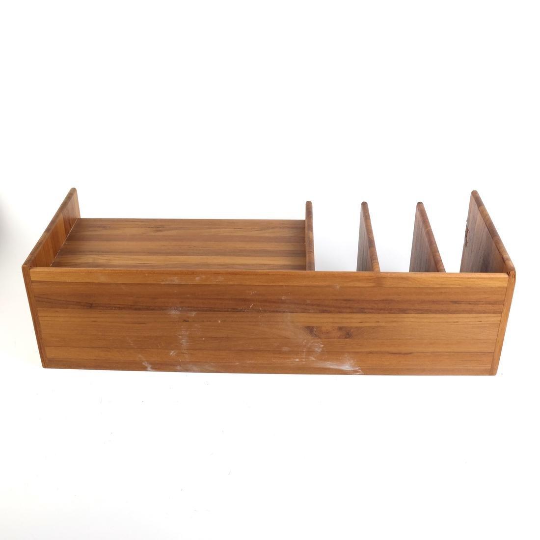 Wooden Desk Organizer - 6