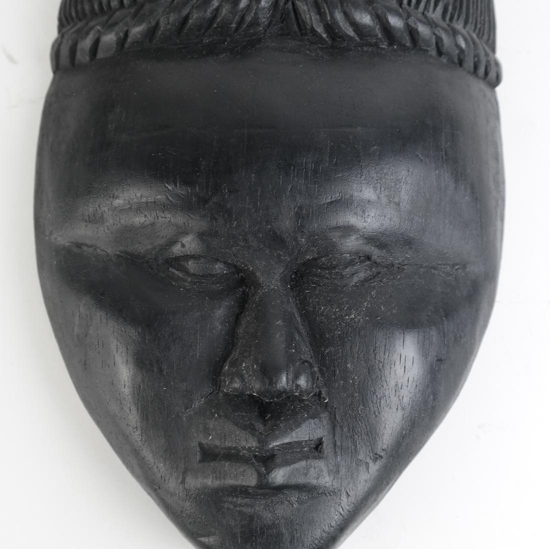 Three Tribal Masks - 7