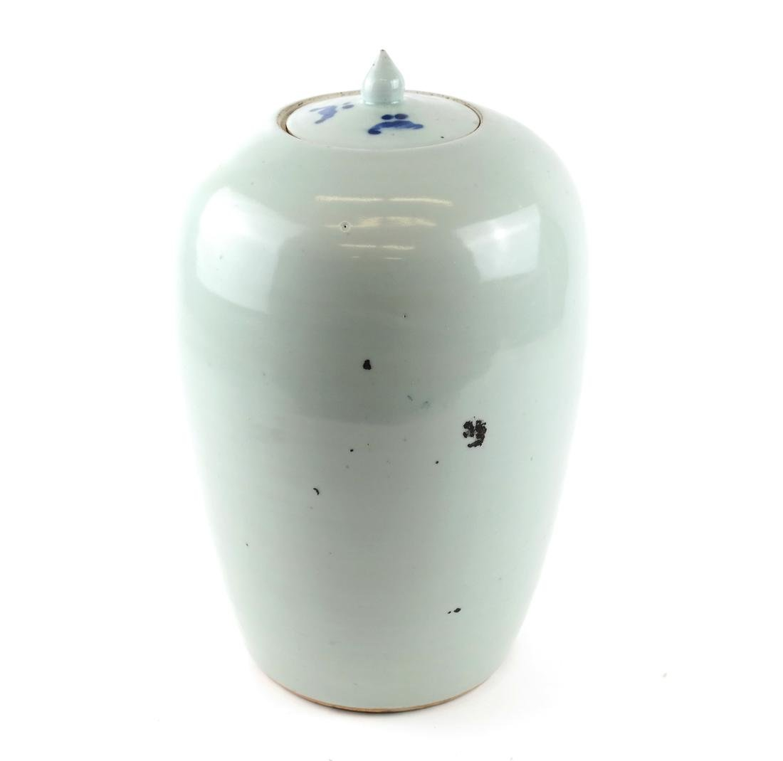 Chinese-Style Ceramic Ginger Jar - 6