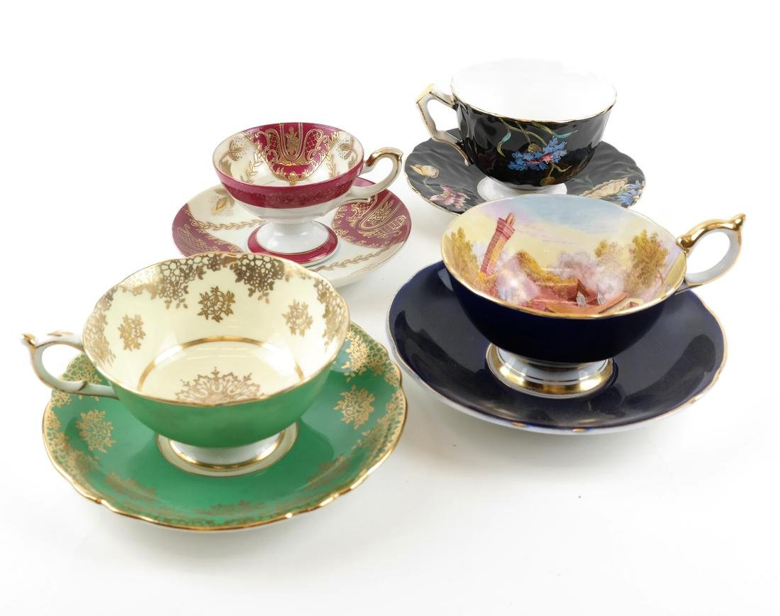 14 Assorted Cups and Saucers - 7