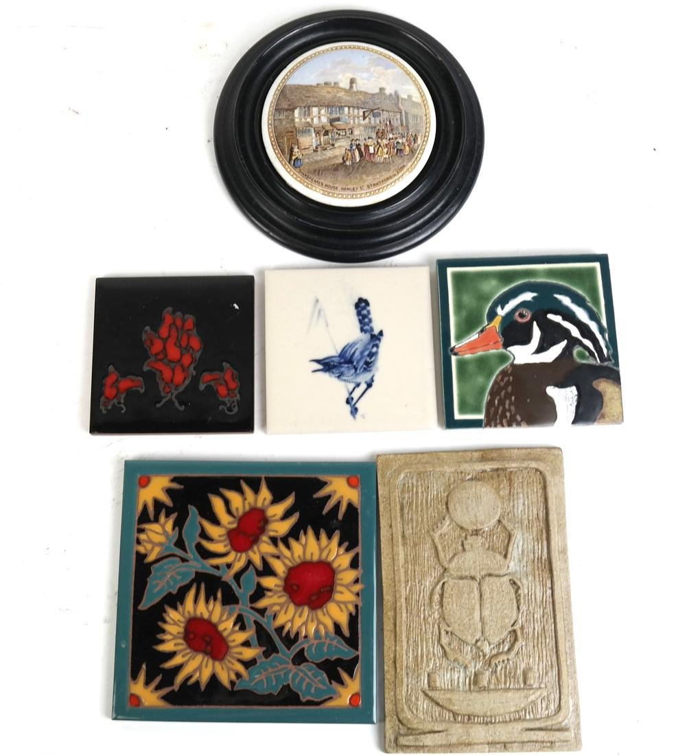 Six Assorted Decorative Items