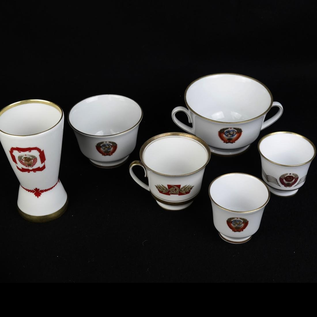 Group of Russian Porcelain - 3