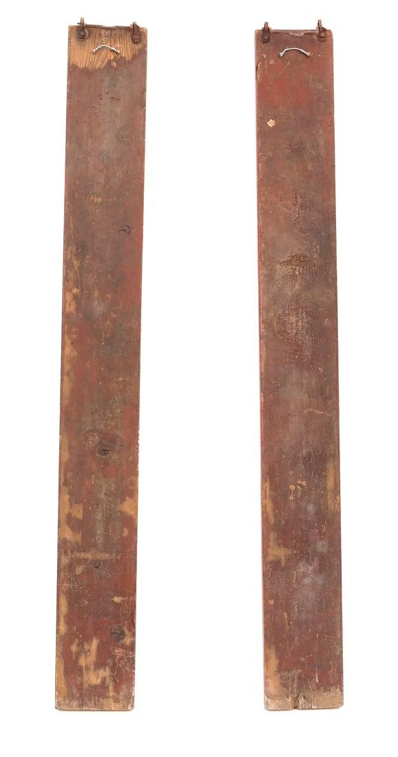 Pair of Chinese Carved Panels - 7