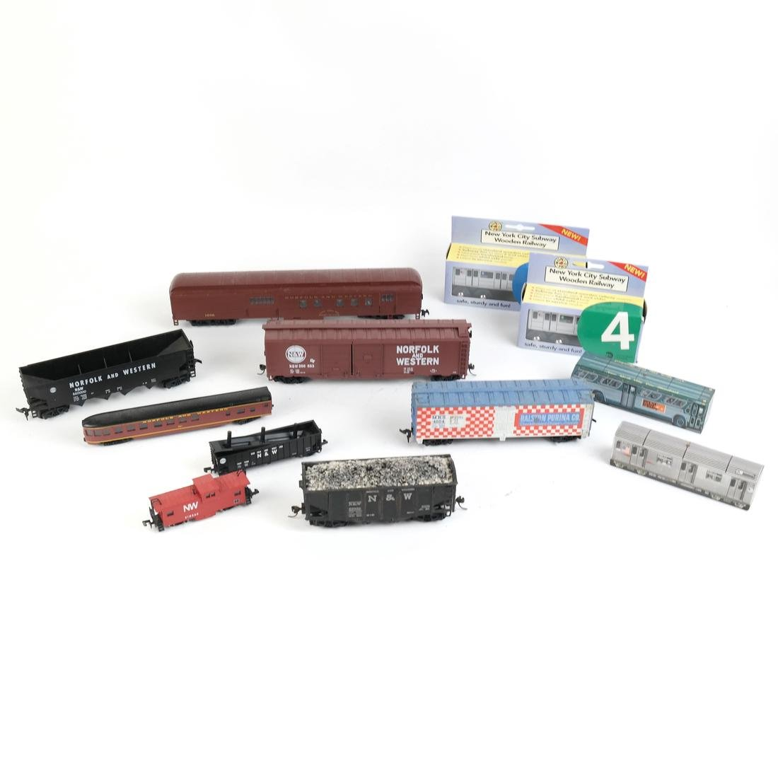 Lot of Toy Trains