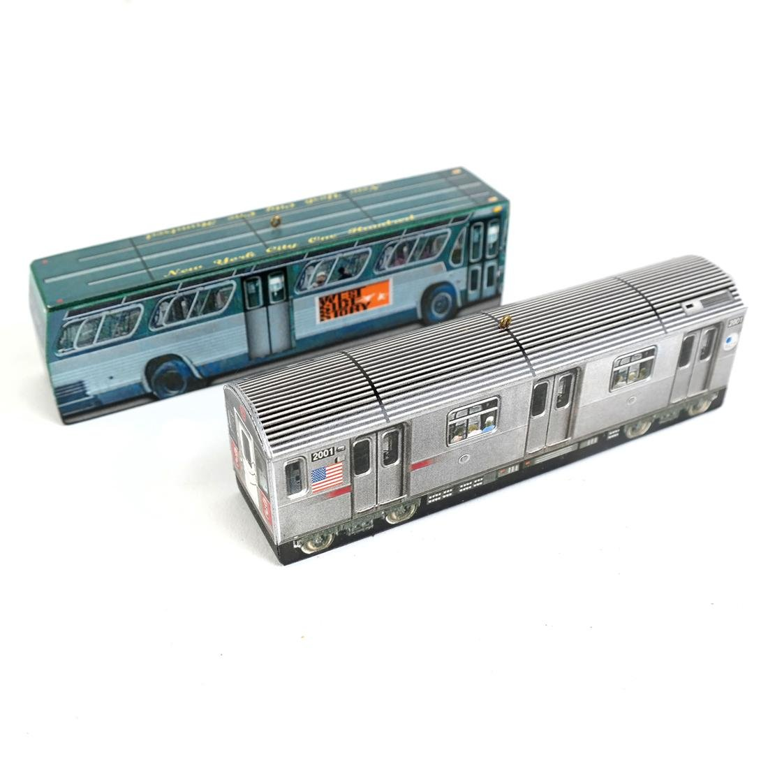 Lot of Toy Trains - 7