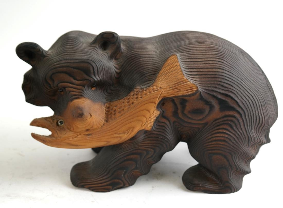 Five Canadian Wood Animals - 4