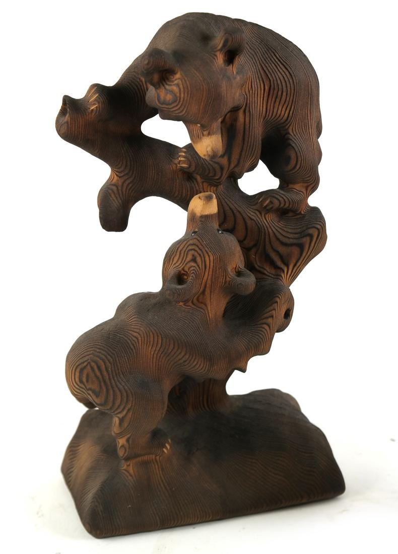Five Canadian Wood Animals - 6