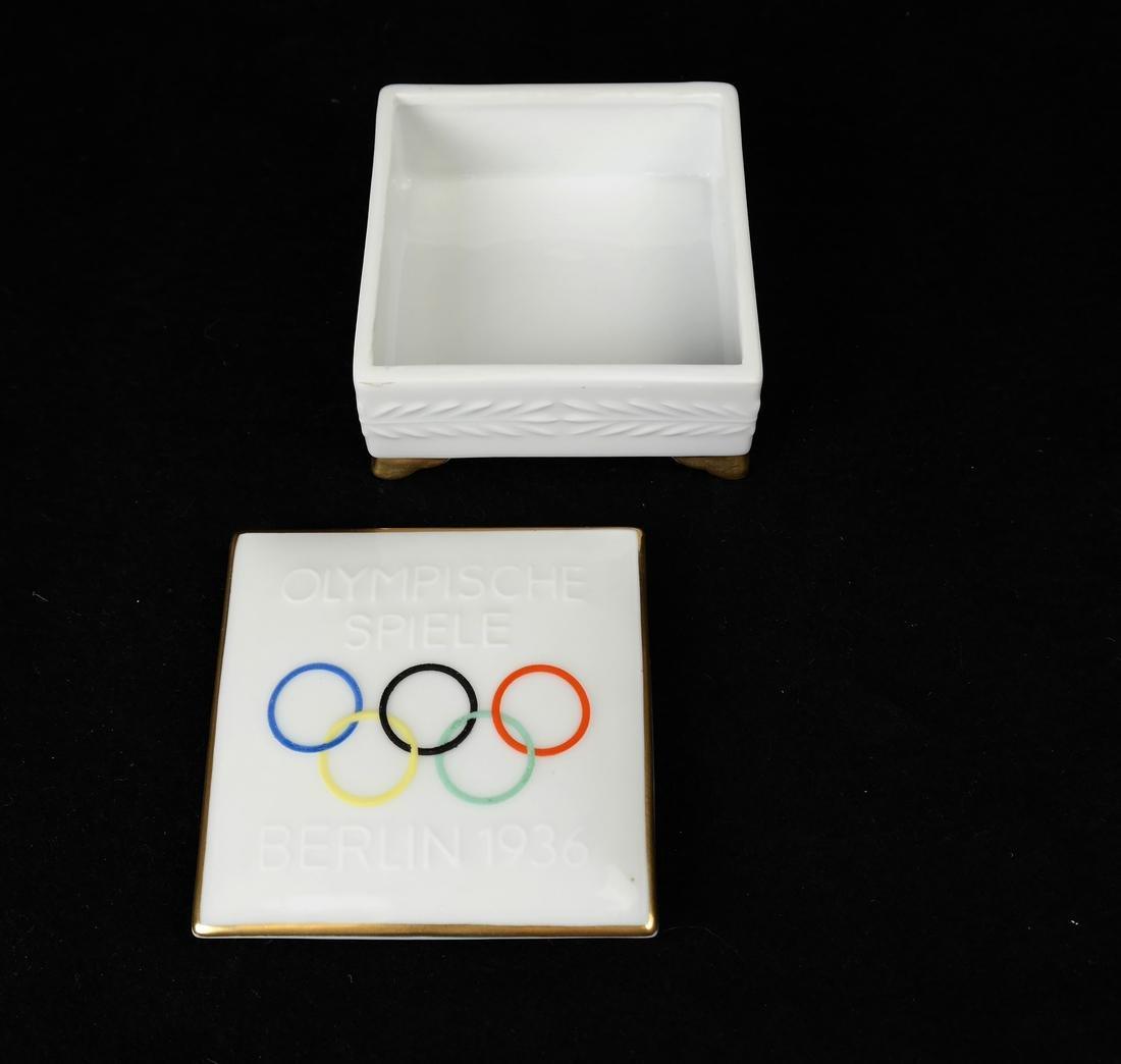 Rosenthal 1936 Olympic Box - 2
