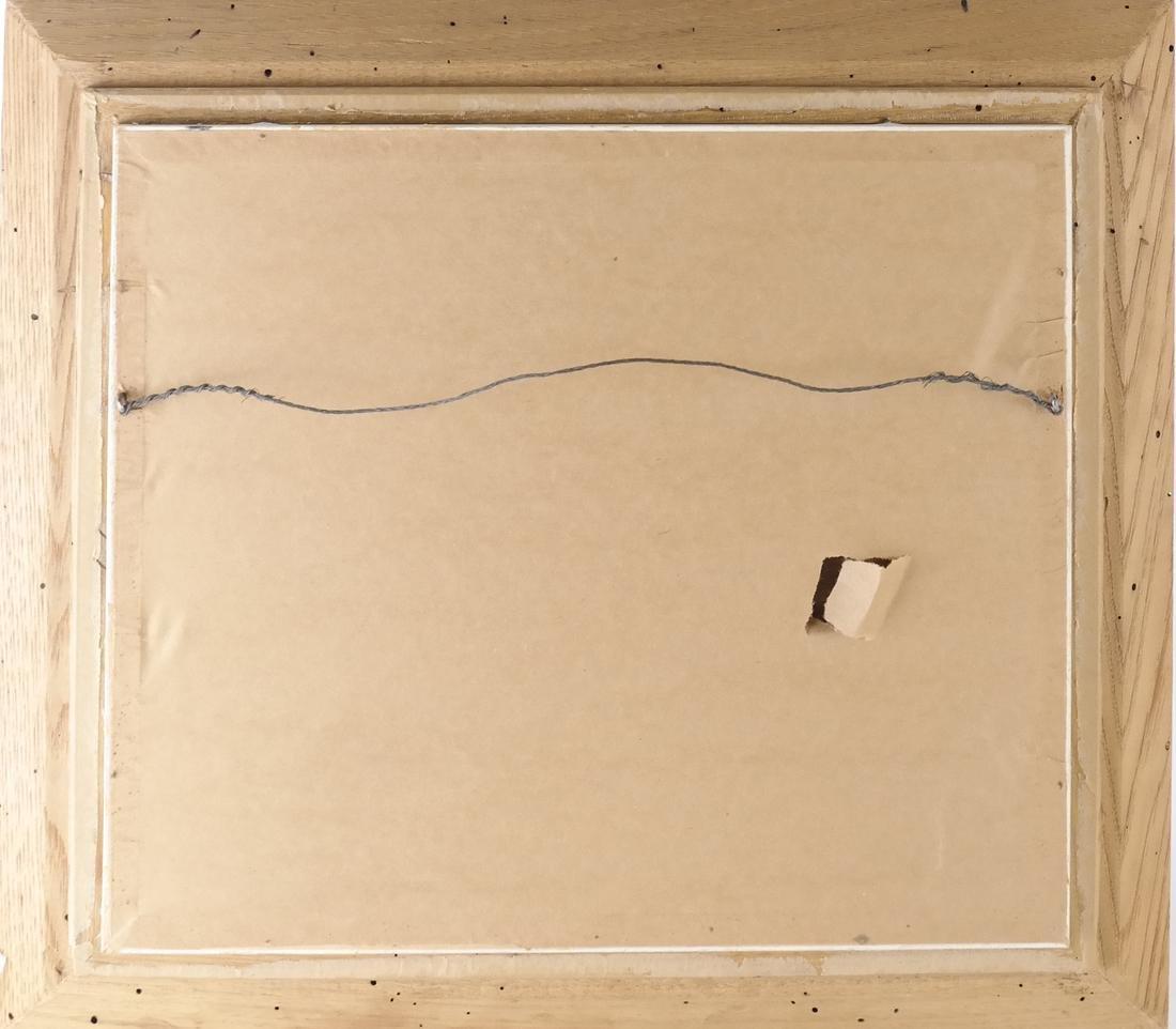 B. Benton, White Birch, Oil on Board - 7
