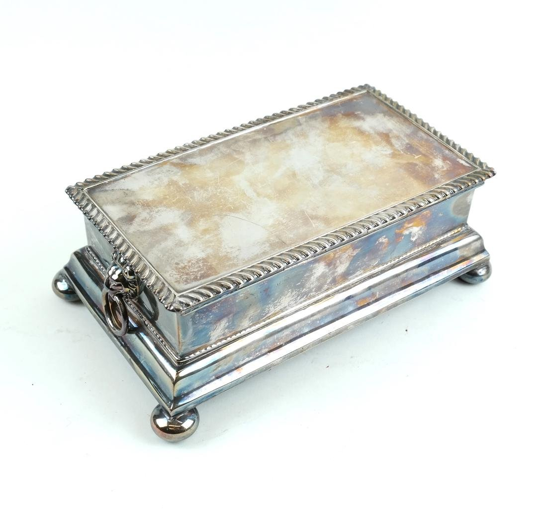 English Silver-plated Standish
