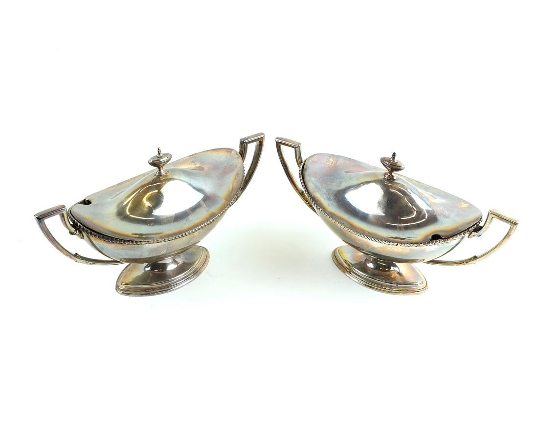 Pair of Silver-Plated Tureens