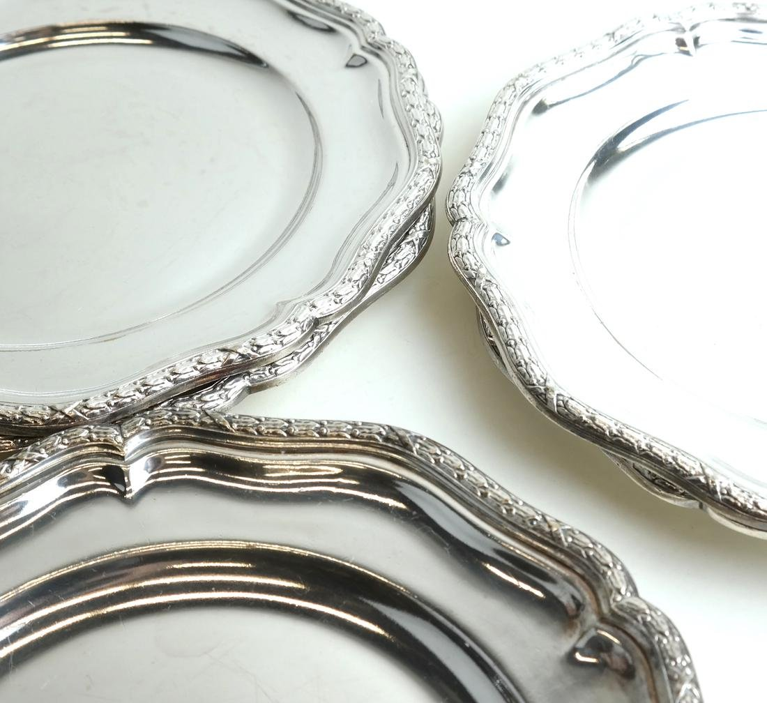 Twelve Silver-Plated Plates - 2