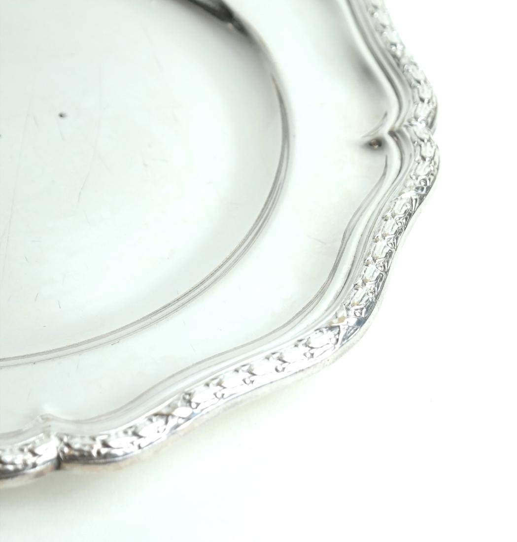 Twelve Silver-Plated Plates - 6