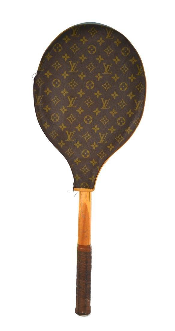 Louis Vuitton Leather Tennis Racket Case
